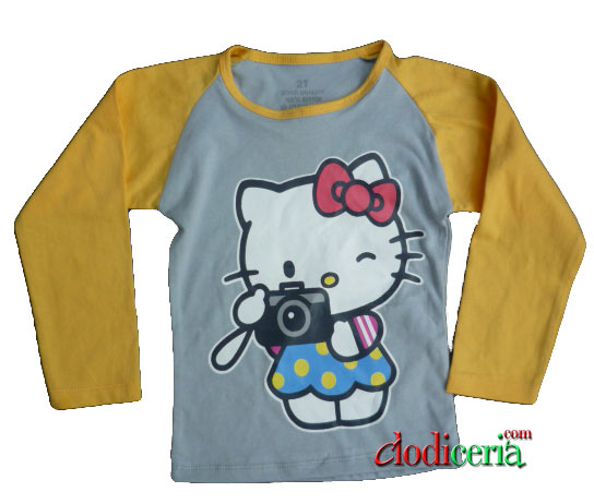 jual kaos anak hello kitty